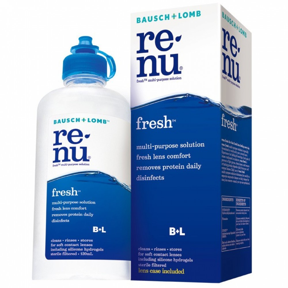 re-nu fresh contact lens solutions