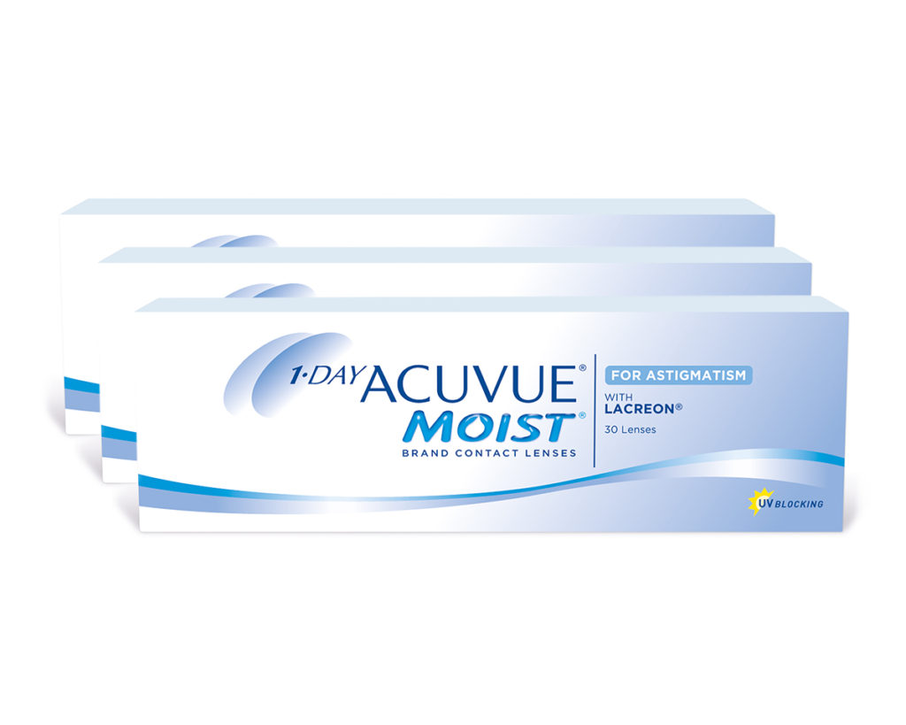 ACUVUE MOIST CONTACT LENS